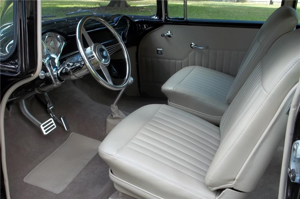 1955 CHEVROLET 210 CUSTOM 2 DOOR SEDAN - Interior - 125091