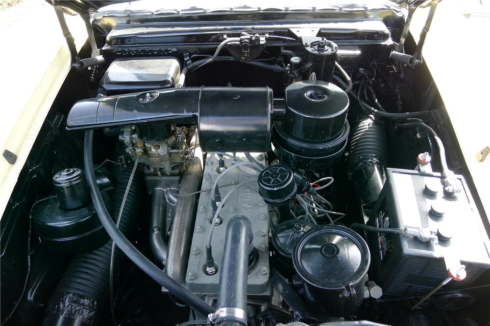 1953 PACKARD CARIBBEAN CONVERTIBLE - Engine - 125098