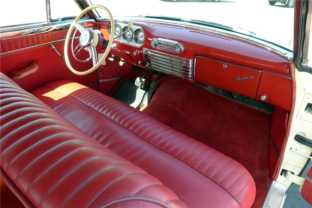 1953 PACKARD CARIBBEAN CONVERTIBLE - Interior - 125098