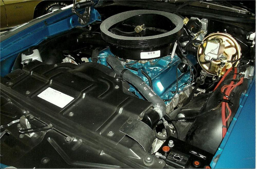 1971 OLDSMOBILE 442 2 DOOR COUPE - Engine - 125102