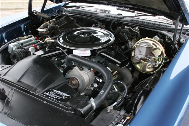 1969 PONTIAC GTO CONVERTIBLE - Engine - 125103