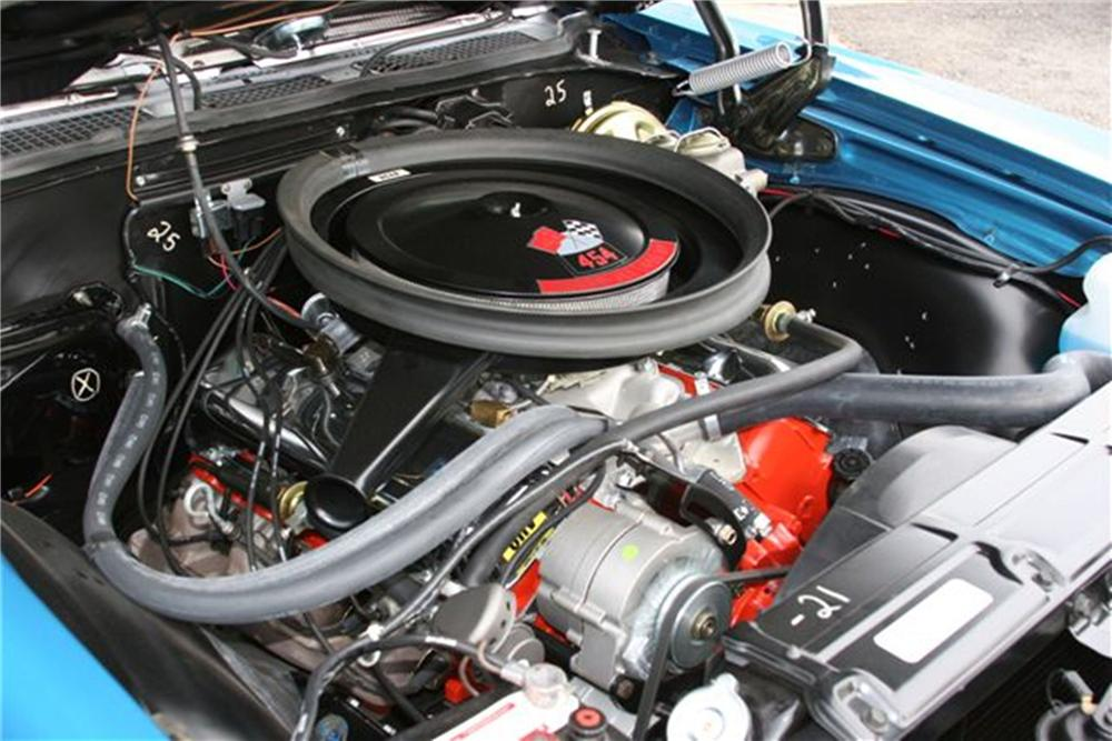1970 CHEVROLET CHEVELLE LS6 RE-CREATION CONVERTIBLE - Engine - 125108