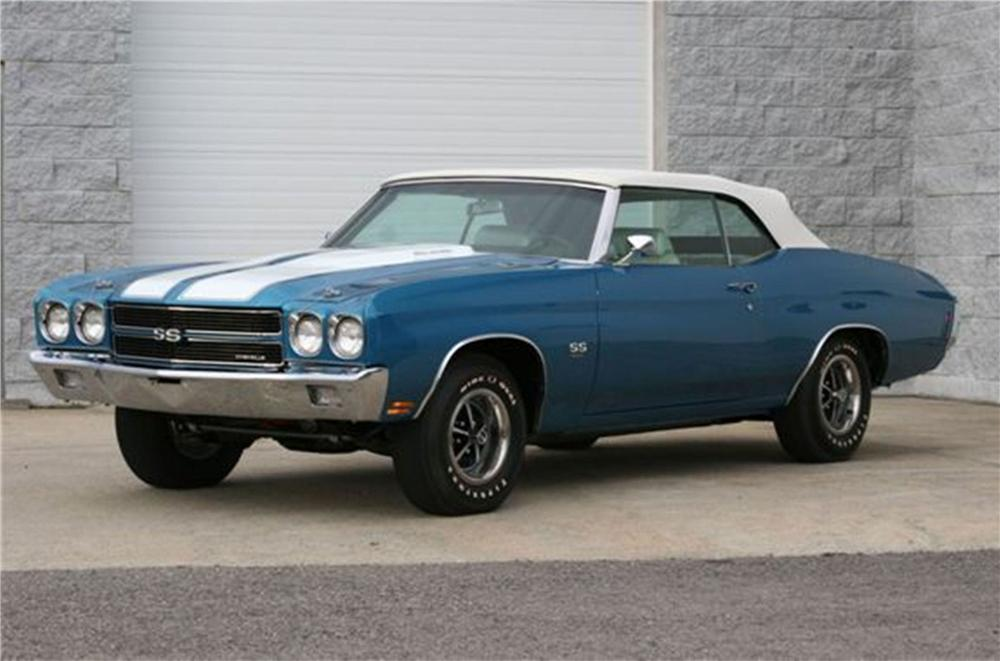 1970 CHEVROLET CHEVELLE LS6 RE-CREATION CONVERTIBLE - Front 3/4 - 125108