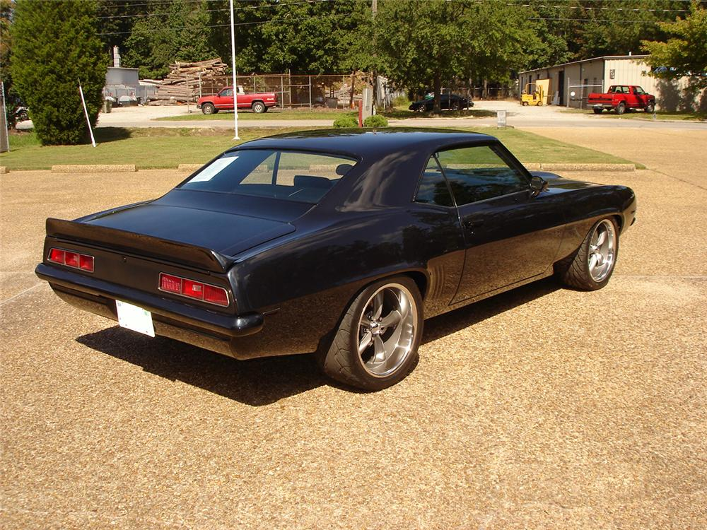 1969 CHEVROLET CAMARO CUSTOM 2 DOOR HARDTOP - Rear 3/4 - 125120
