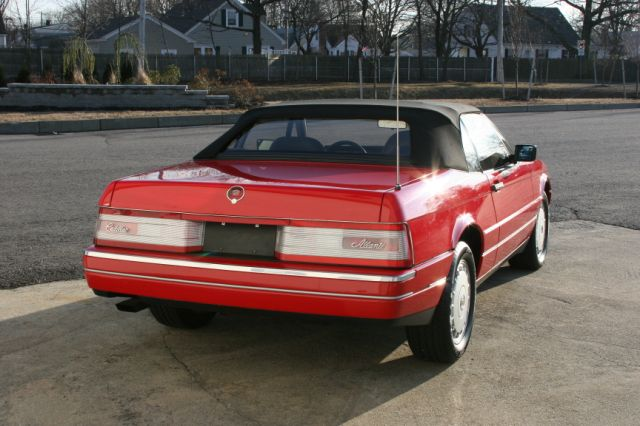 1990 CADILLAC ALLANTE CONVERTIBLE - Rear 3/4 - 125126