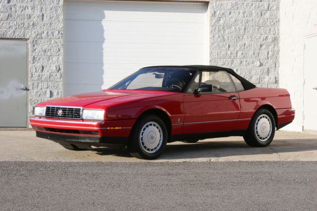 1990 CADILLAC ALLANTE CONVERTIBLE - Side Profile - 125126