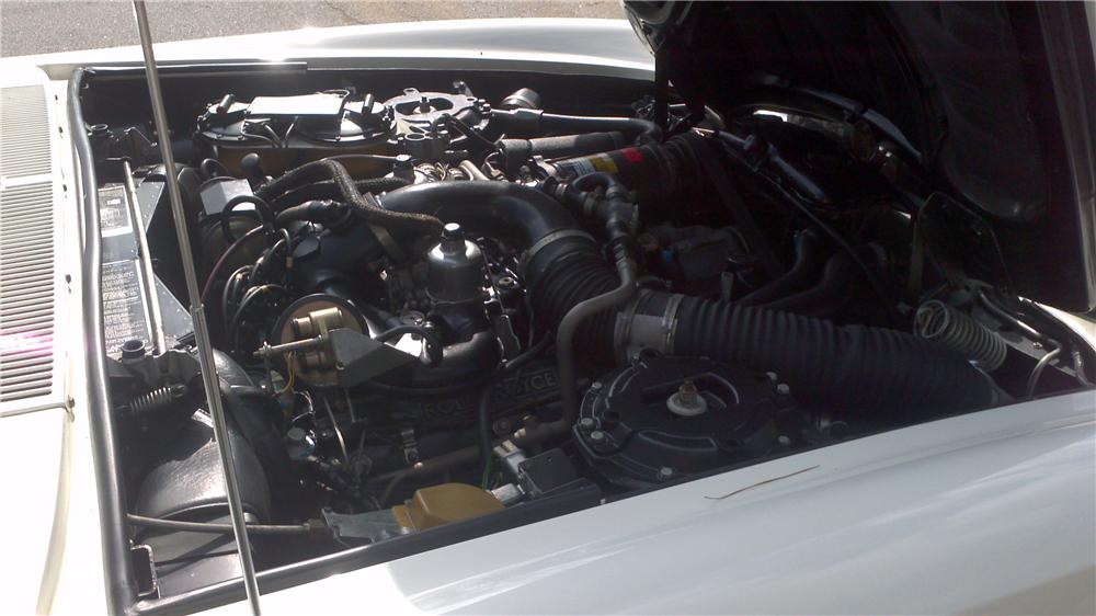 1979 ROLLS-ROYCE CORNICHE CONVERTIBLE - Engine - 125128