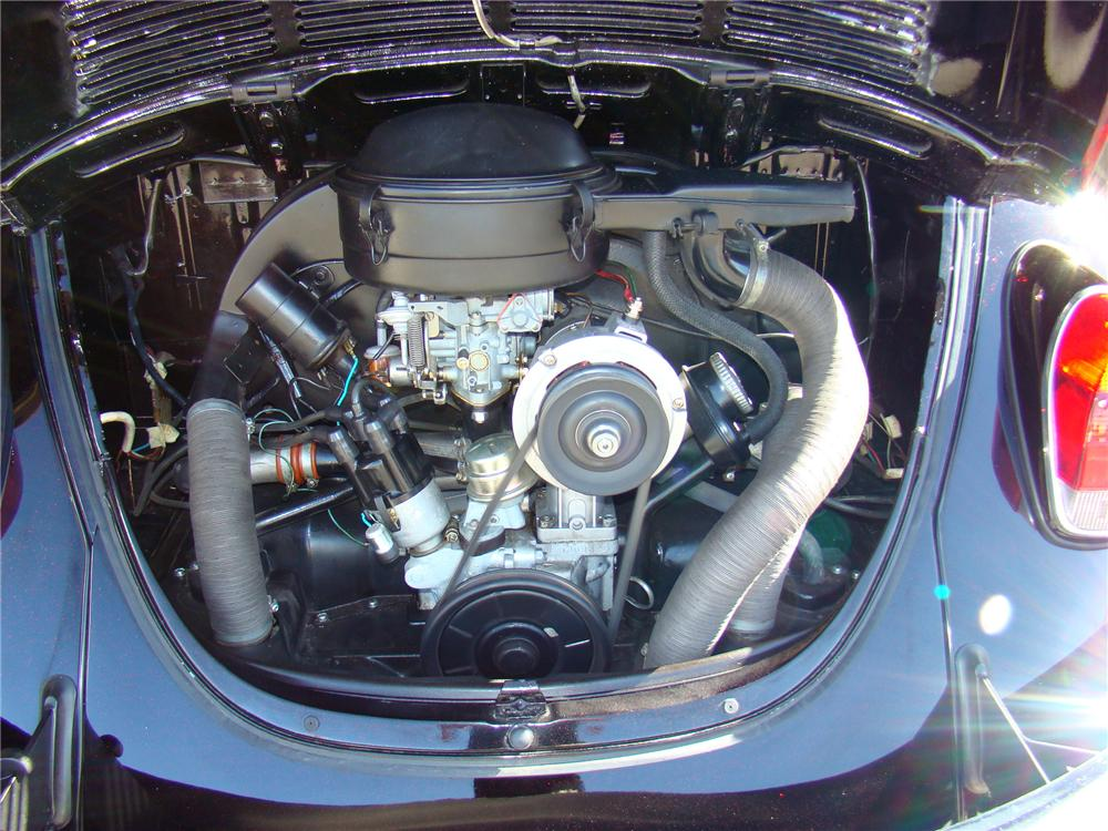 1971 VOLKSWAGEN BEETLE CONVERTIBLE - Engine - 125130
