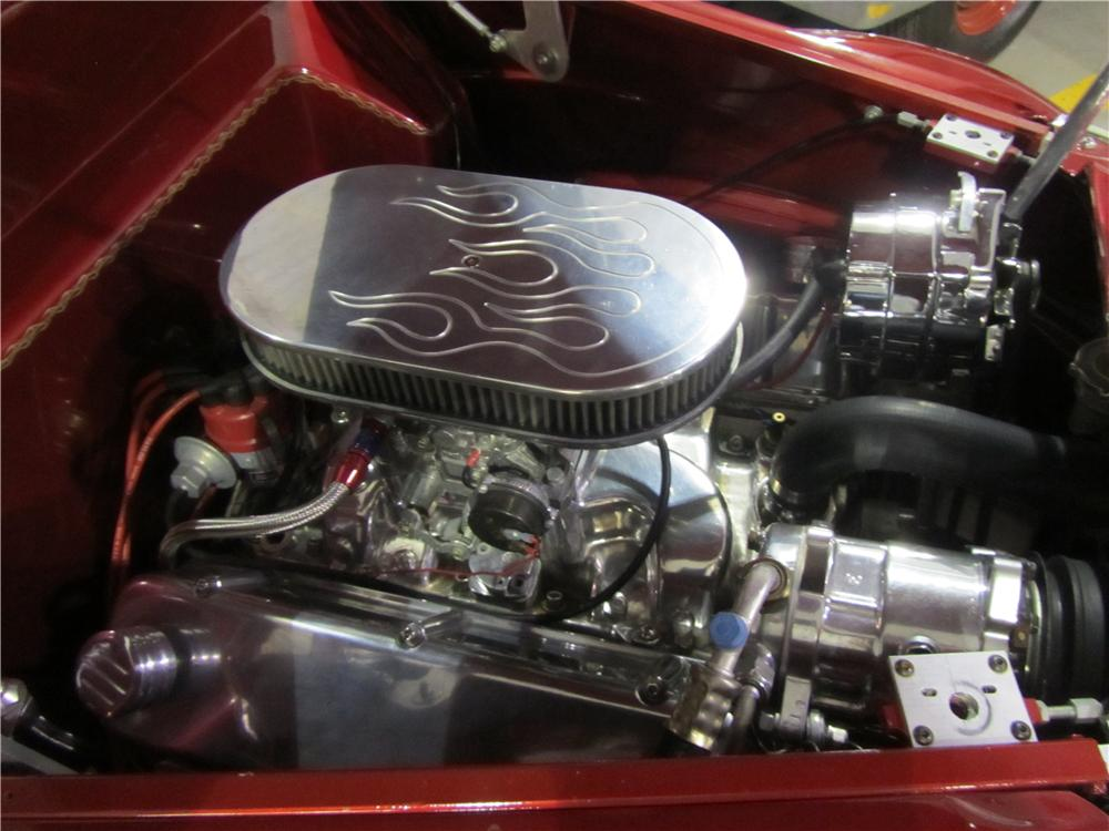 1937 FORD CUSTOM CONVERTIBLE - Engine - 125134