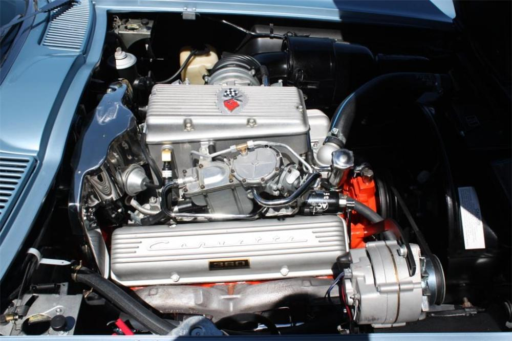 1963 CHEVROLET CORVETTE CONVERTIBLE - Engine - 125140
