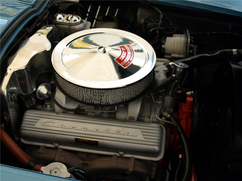 1967 CHEVROLET CORVETTE CONVERTIBLE - Engine - 125141