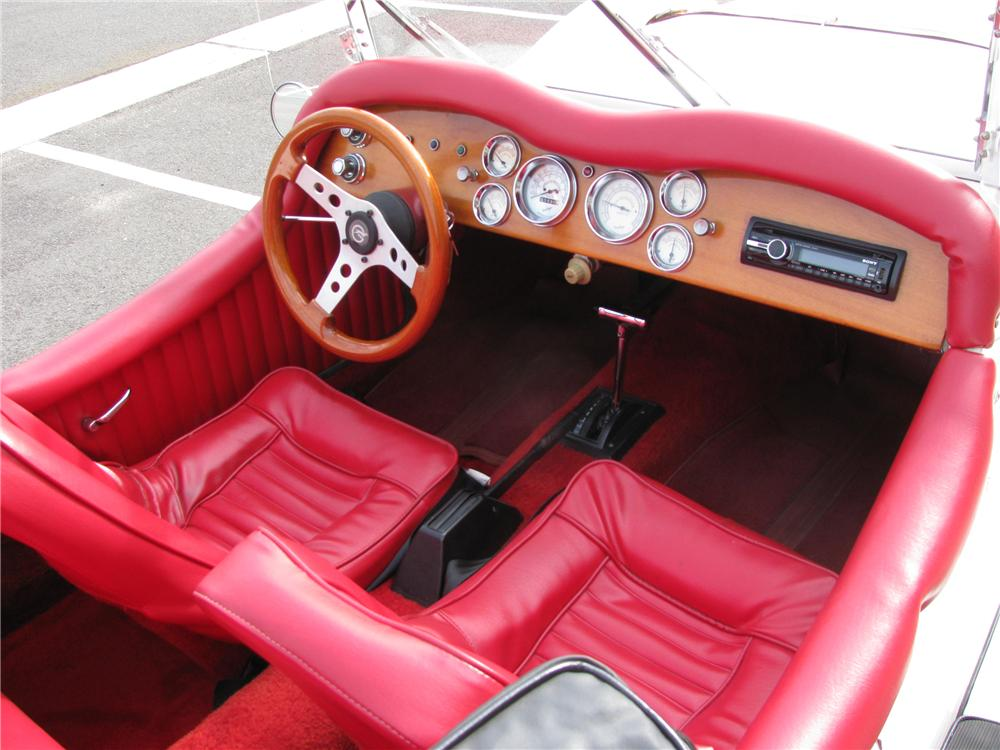 1929 MERCEDES CONVERTIBLE RE-CREATION - Interior - 125142