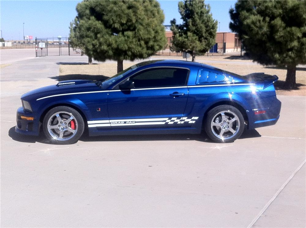 2007 FORD MUSTANG ROUSH DRAG PAK - Side Profile - 125150