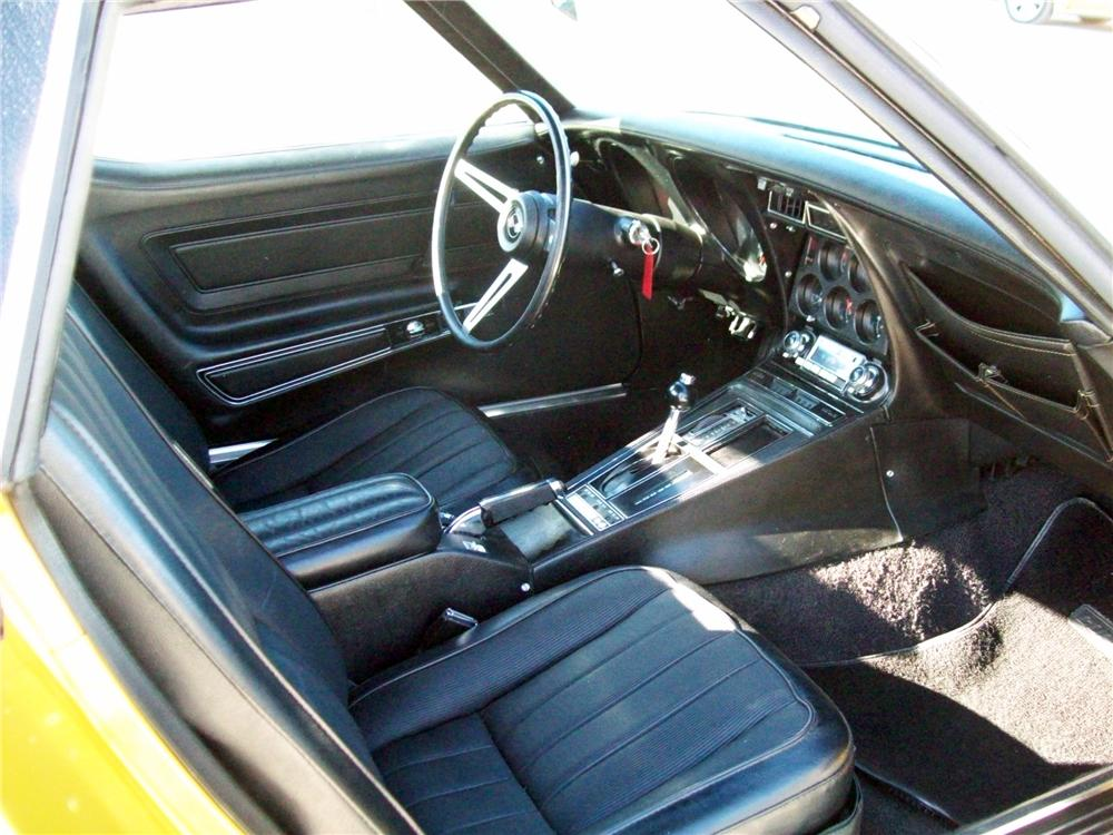 1971 CHEVROLET CORVETTE CONVERTIBLE - Interior - 125157