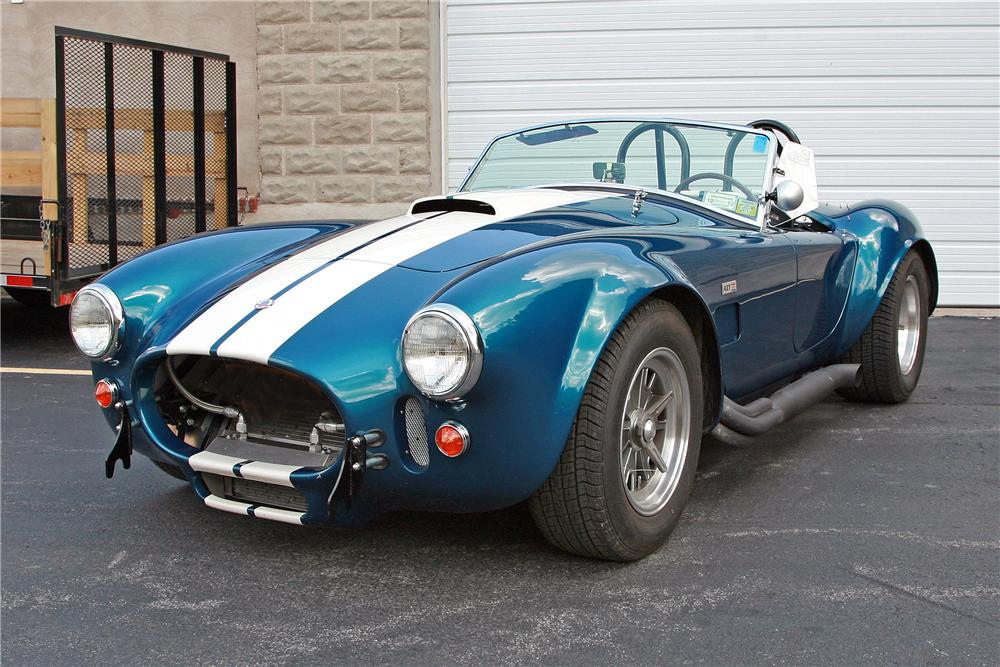 1967 SHELBY COBRA ROADSTER RE-CREATION - Front 3/4 - 125159