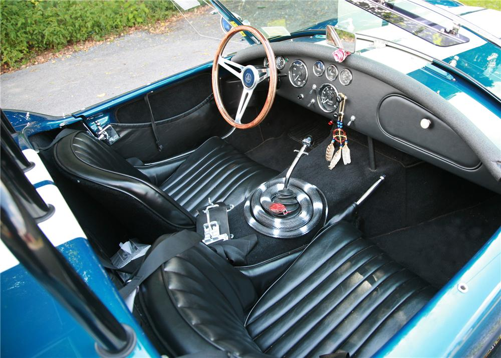 1967 SHELBY COBRA ROADSTER RE-CREATION - Interior - 125159