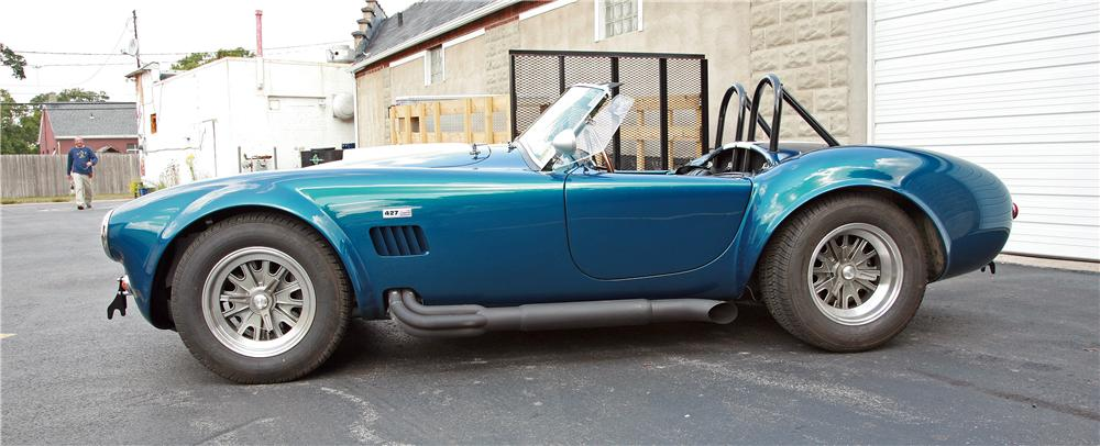 1967 SHELBY COBRA ROADSTER RE-CREATION - Side Profile - 125159