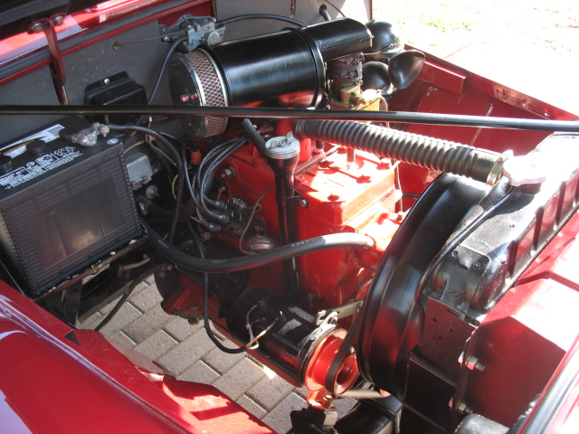 1949 WILLYS JEEPSTER CONVERTIBLE - Engine - 125163
