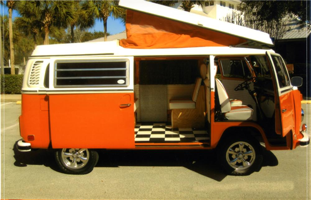 1973 VOLKSWAGEN WESTFALIA CUSTOM CAMPER BUS - Side Profile - 125171