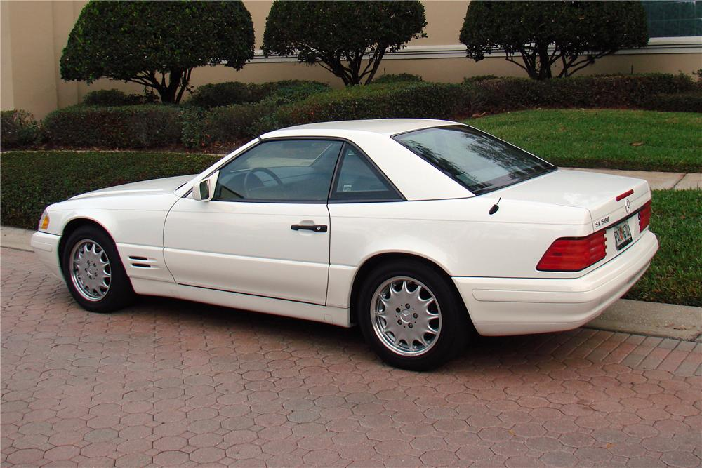 1997 MERCEDES-BENZ SL500 CONVERTIBLE - Side Profile - 125172