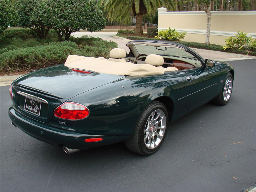 2002 jaguar xkr convertible 125175. Black Bedroom Furniture Sets. Home Design Ideas