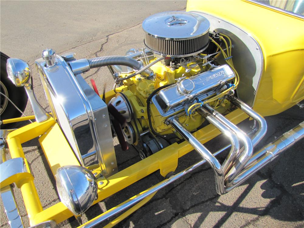 1923 FORD T-BUCKET CUSTOM ROADSTER - Engine - 125177