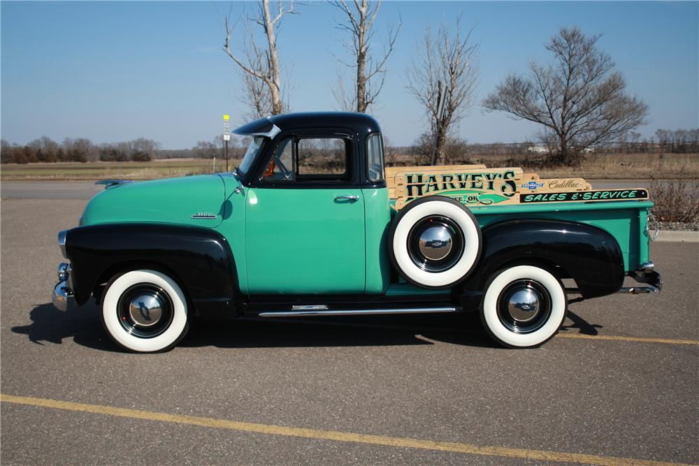 1954 CHEVROLET 3100 PICKUP - Side Profile - 125178