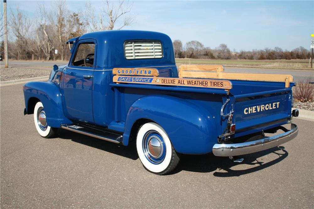 1949 CHEVROLET 3100 PICKUP - Rear 3/4 - 125179