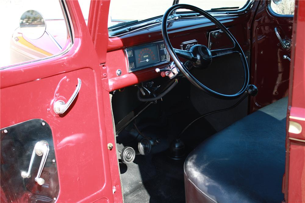 1941 FORD 1/2 TON CUSTOM PICKUP - Interior - 125180
