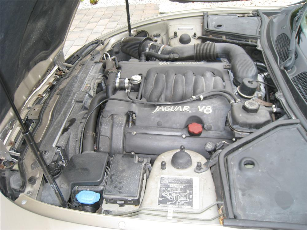 1997 JAGUAR XK8 CONVERTIBLE - Engine - 125187