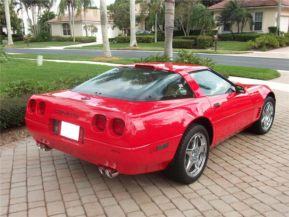 1995 CHEVROLET CORVETTE ZR1 COUPE - Rear 3/4 - 125188