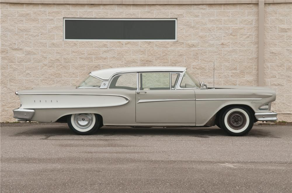 1958 EDSEL CORSAIR 2 DOOR HARDTOP - Side Profile - 125189