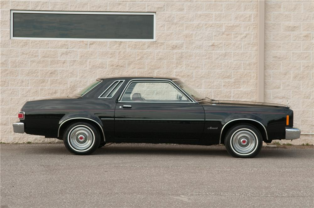 1978 MERCURY MONARCH 2 DOOR HARDTOP - Side Profile - 125190