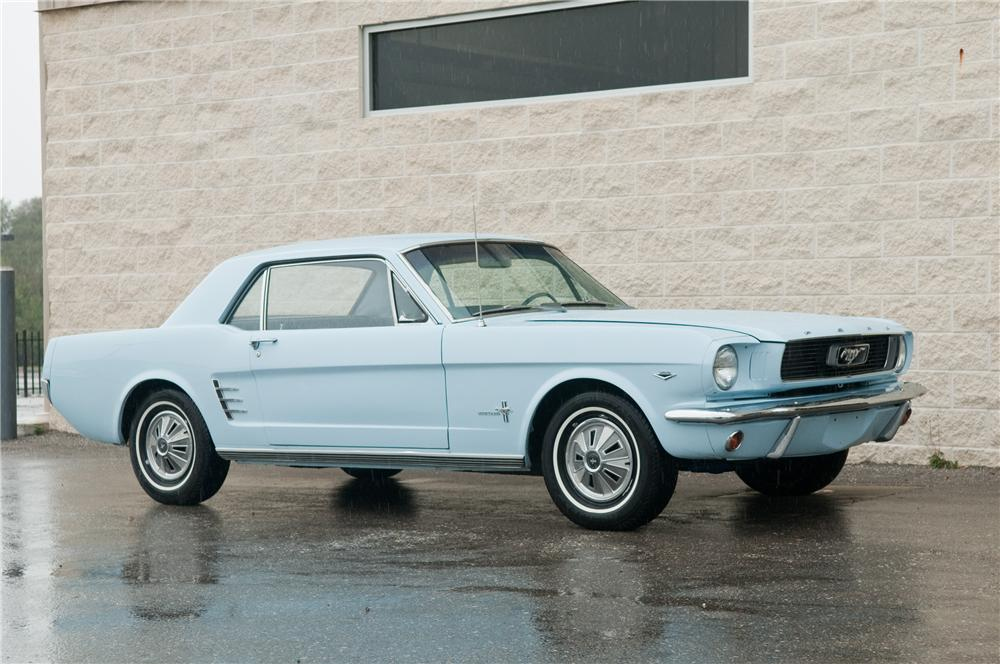 1966 Ford Mustang 2 Door Coupe 125192