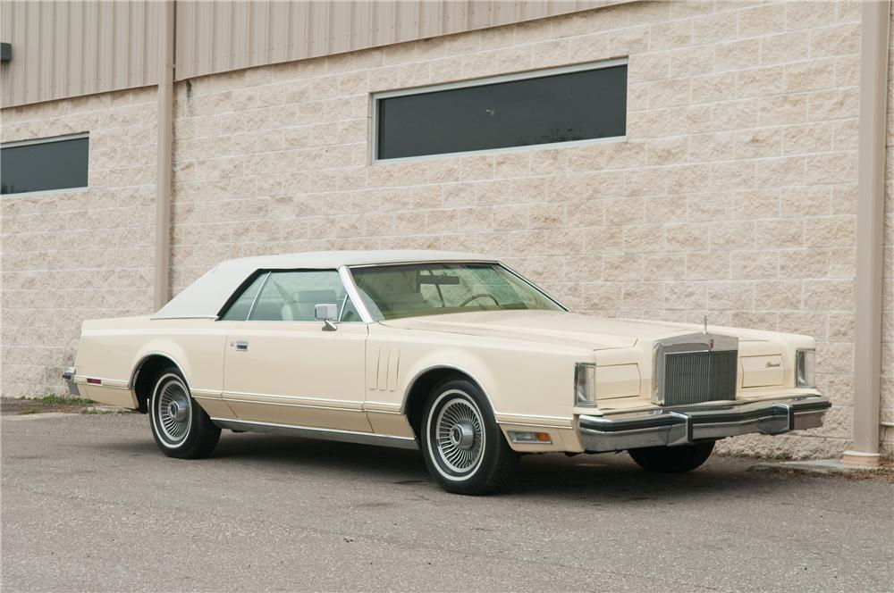 1979 LINCOLN CONTINENTAL MARK V 2 DOOR HARDTOP - Front 3/4 - 125193