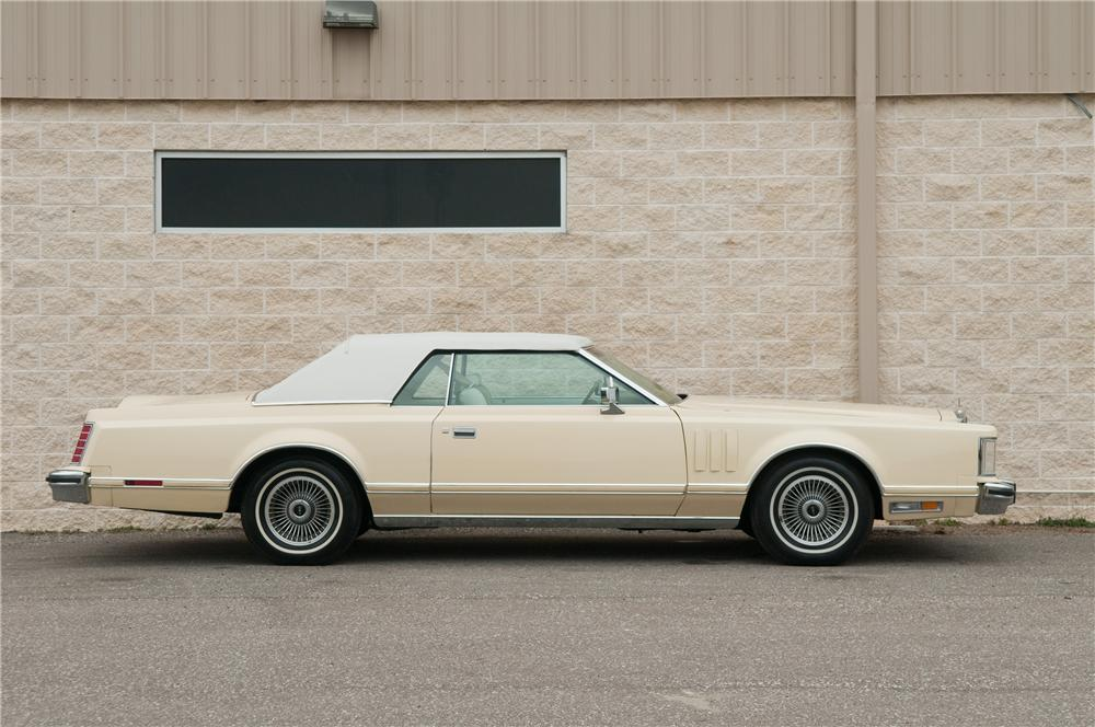 1979 LINCOLN CONTINENTAL MARK V 2 DOOR HARDTOP - Side Profile - 125193