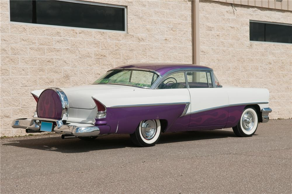 1956 MERCURY MONTEREY CUSTOM 2 DOOR HARDTOP - Rear 3/4 - 125195