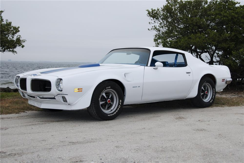 1970 PONTIAC TRANS AM 2 DOOR COUPE - Front 3/4 - 125199