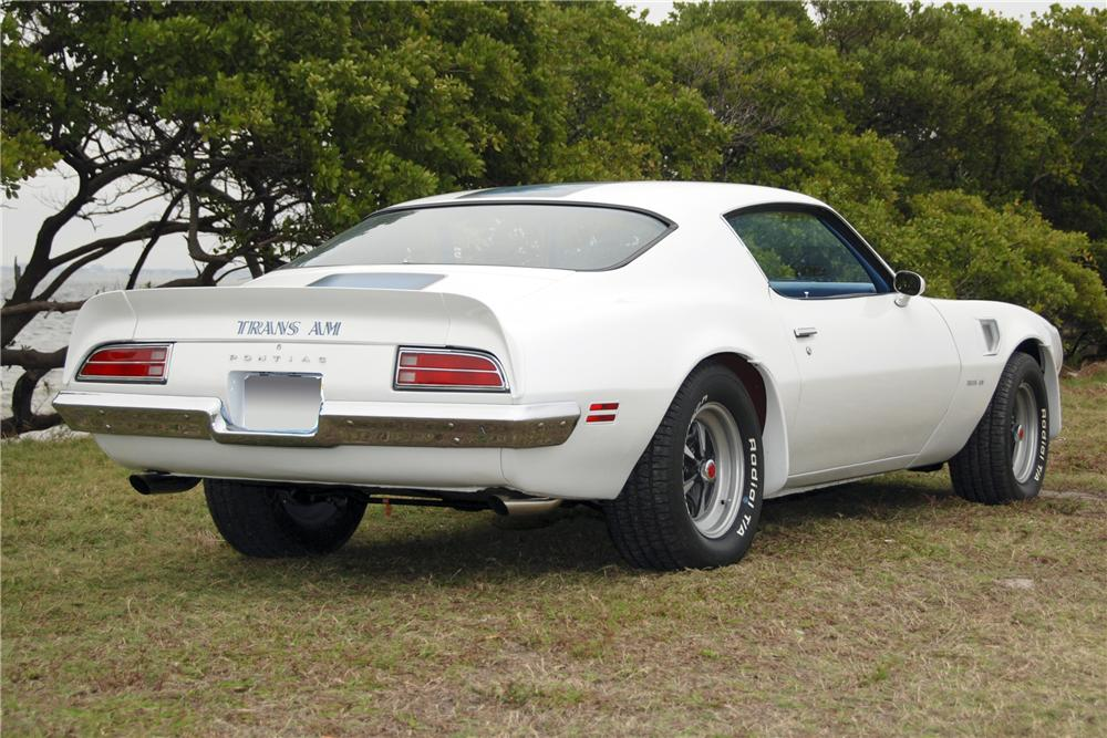 1970 PONTIAC TRANS AM 2 DOOR COUPE - Rear 3/4 - 125199