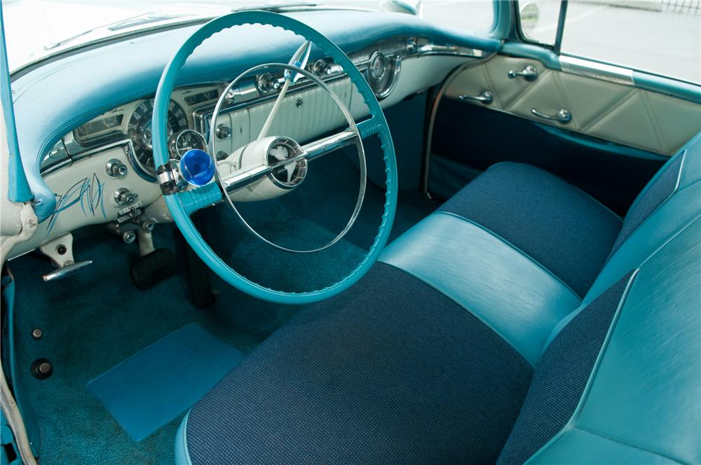 1954 OLDSMOBILE 98 CUSTOM 2 DOOR HARDTOP - Interior - 125210
