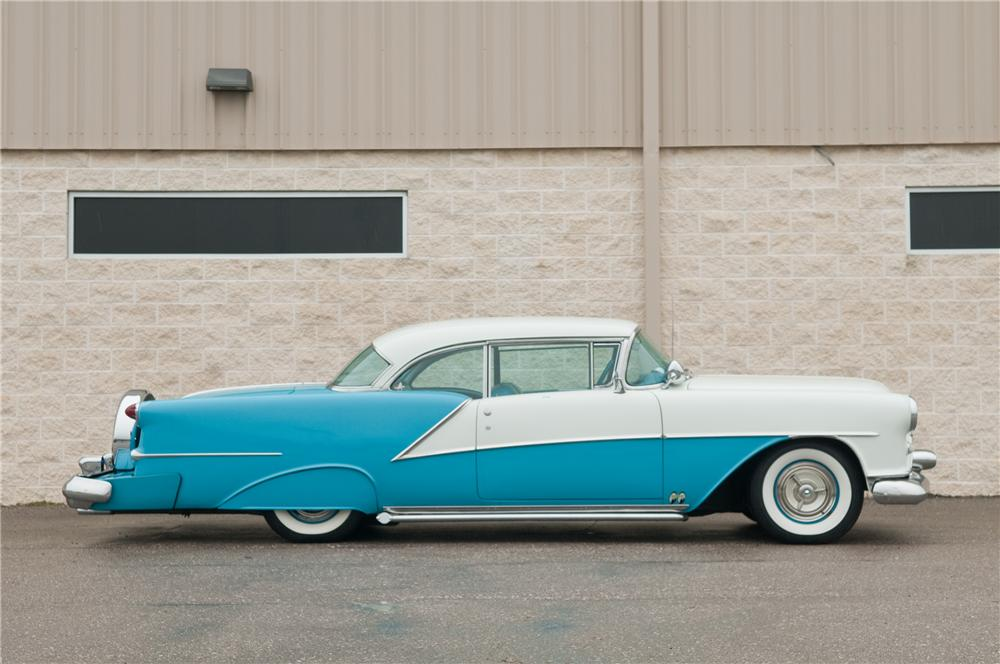 1954 OLDSMOBILE 98 CUSTOM 2 DOOR HARDTOP - Side Profile - 125210