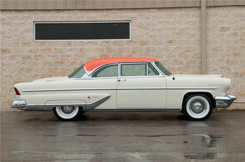 1955 Lincoln Capri 2 Door Hardtop 125213