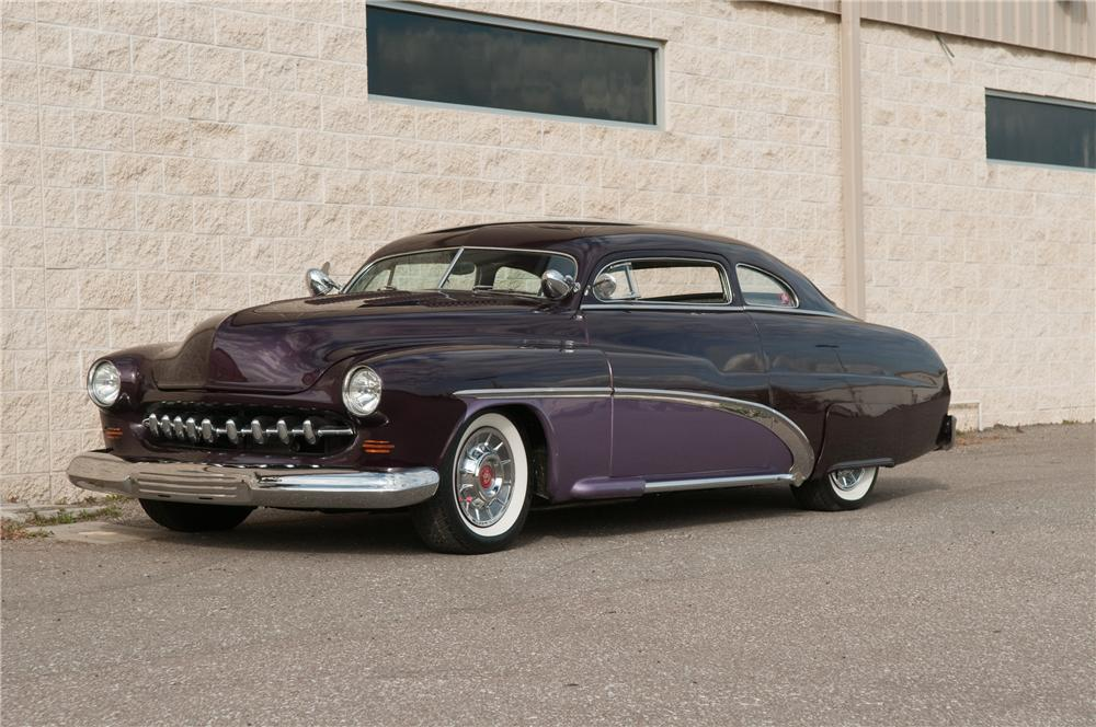 1951 MERCURY CUSTOM 2 DOOR COUPE - Front 3/4 - 125214