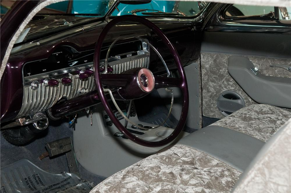 1951 MERCURY CUSTOM 2 DOOR COUPE - Interior - 125214