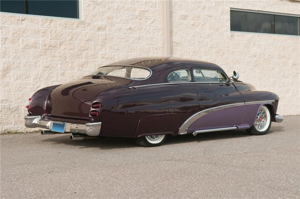 1951 MERCURY CUSTOM 2 DOOR COUPE - Rear 3/4 - 125214