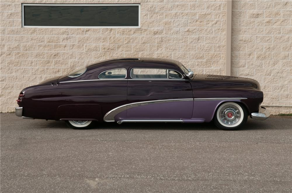1951 MERCURY CUSTOM 2 DOOR COUPE - Side Profile - 125214