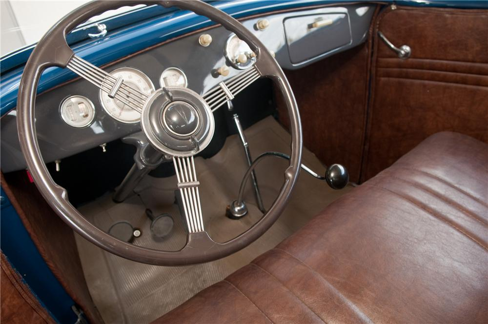 1935 FORD PHAETON 4 DOOR CONVERTIBLE - Interior - 125216