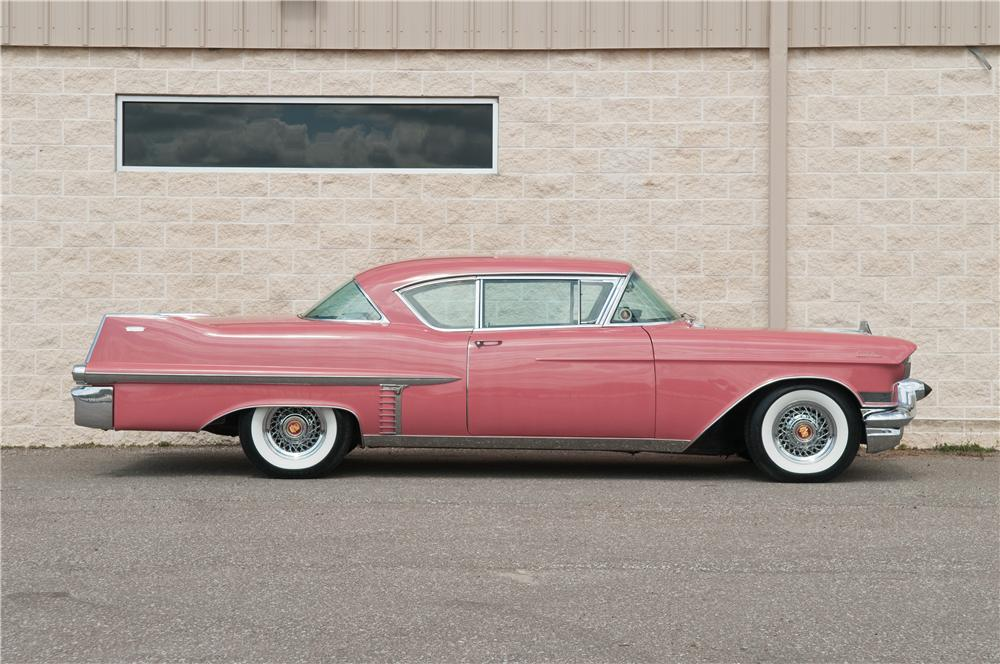 1957 CADILLAC SERIES 62 2 DOOR HARDTOP - Side Profile - 125219