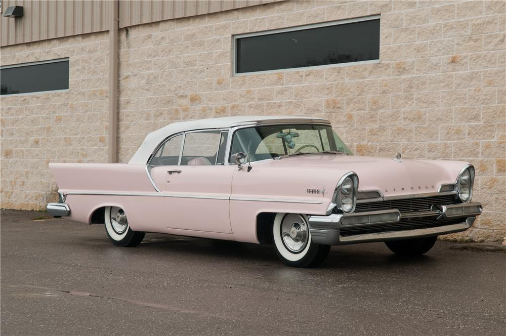 1957 LINCOLN PREMIERE CONVERTIBLE - Front 3/4 - 125223