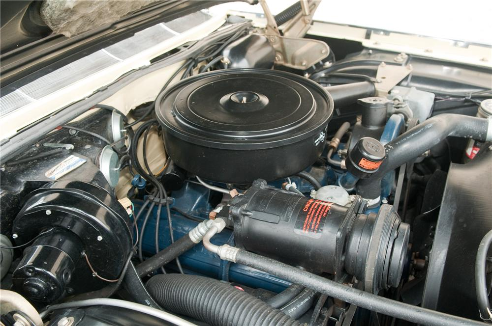 1962 CADILLAC SERIES 62 CONVERTIBLE - Engine - 125226